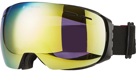Alpina Granby QVMM/S2-3 goggles zwart/goud